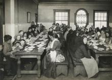 Immigrants at Ellis Island, New York Public Library Digital Gallery Early 20th Century